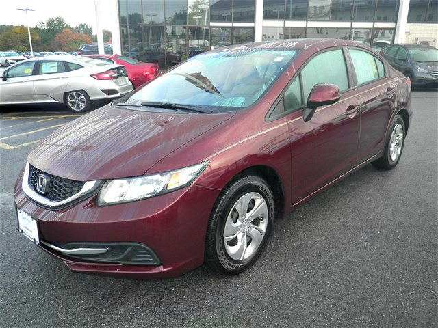 Certified Pre Owned 2013 Honda Civic In Tewksbury Massachusetts