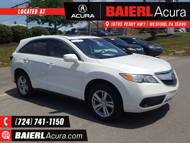 used car specials wexford pa baierl acura