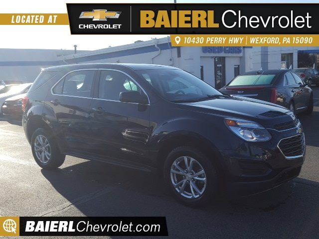 Used 2017 Chevrolet Equinox In Wexford Pennsylvania