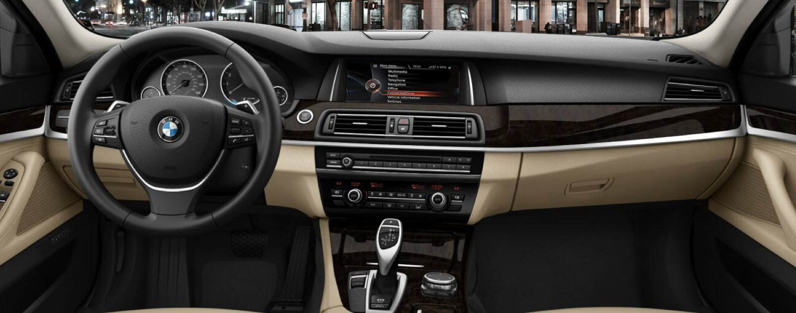 New BMW 5 Series Interior Features