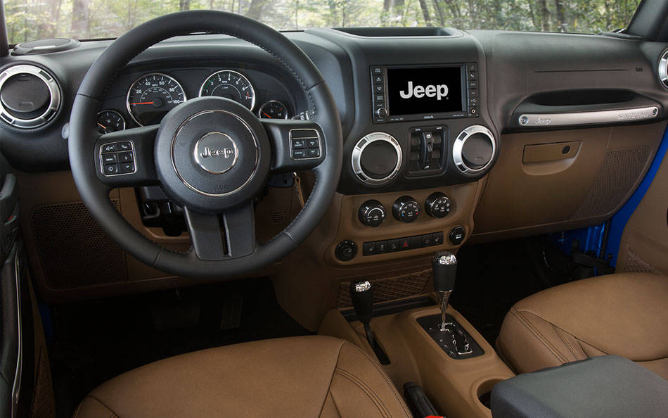 New Jeep Wrangler Unlimited Interior Image 1