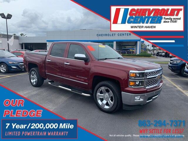 Winter Haven Chevrolet >> Pre Owned 2015 Chevrolet Silverado 1500 Ltz Rwd Truck