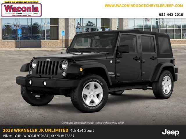 New 2018 Jeep Wrangler Unlimited In Waconia Minnesota