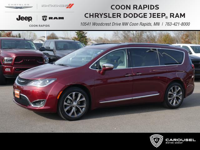 Certified Pre Owned 2017 Chrysler Pacifica In Coon Rapids Minnesota