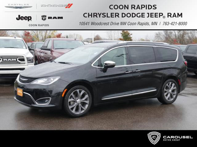 Certified Pre Owned 2018 Chrysler Pacifica In Coon Rapids Minnesota