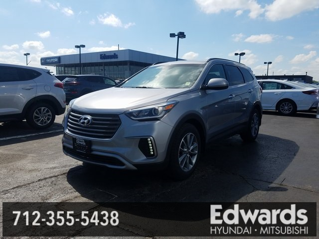 New 2018 Hyundai Santa Fe In Council Bluffs Iowa