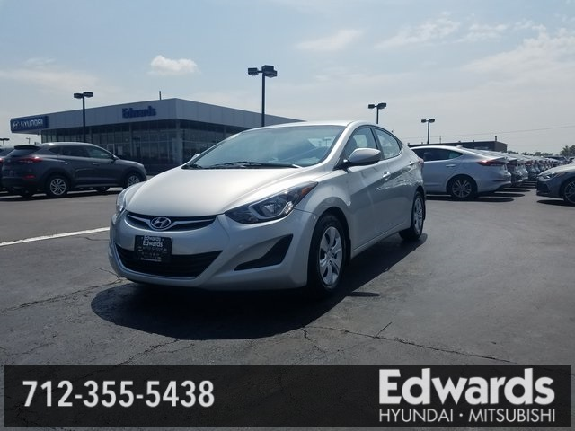 Wonderful Used 2016 Hyundai Elantra In Council Bluffs Iowa