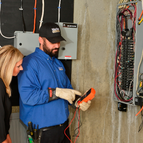 Electrical/ Electrician Services - Just Call Heritage® NH & MA