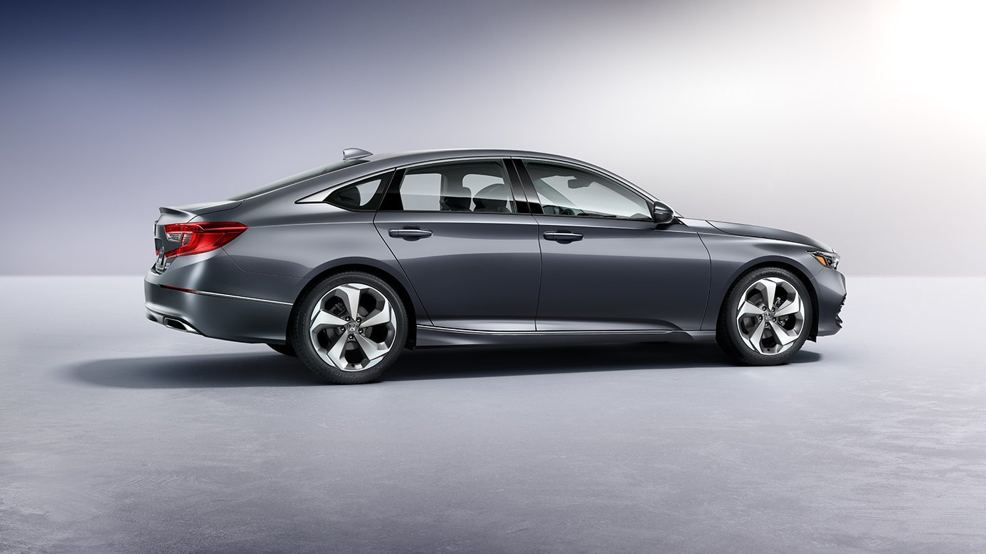 New All Over. The New Honda Accord ...