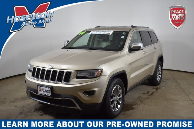 Used 2014 Jeep Grand Cherokee >> Pre Owned 2014 Jeep Grand Cherokee Limited 4wd