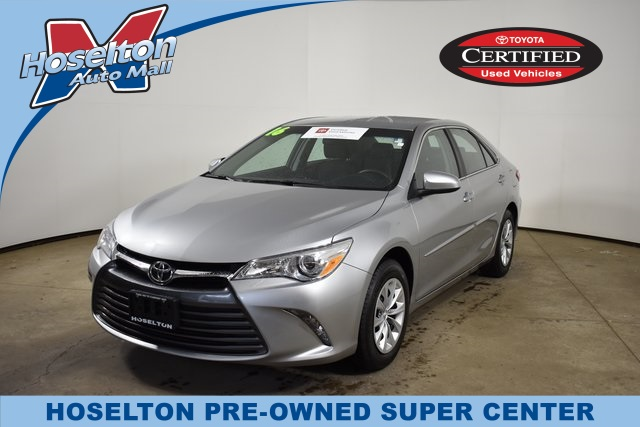 Toyota Camry Used >> Certified Pre Owned 2016 Toyota Camry Le Fwd 4d Sedan