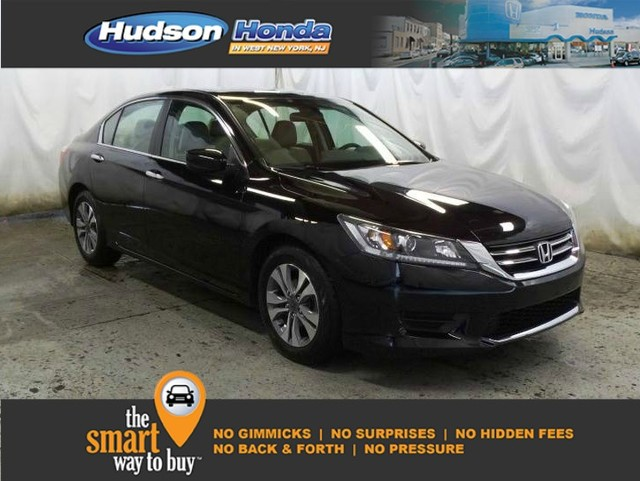 Certified Pre Owned 2015 Honda Accord In West New York New Jersey