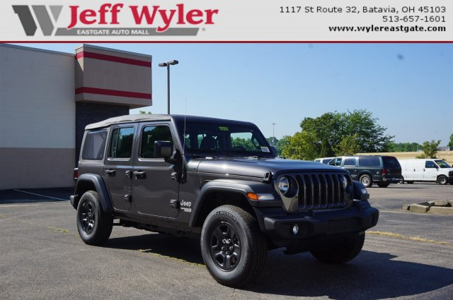 New 2018 Jeep Wrangler Unlimited In Lawrenceburg Indiana
