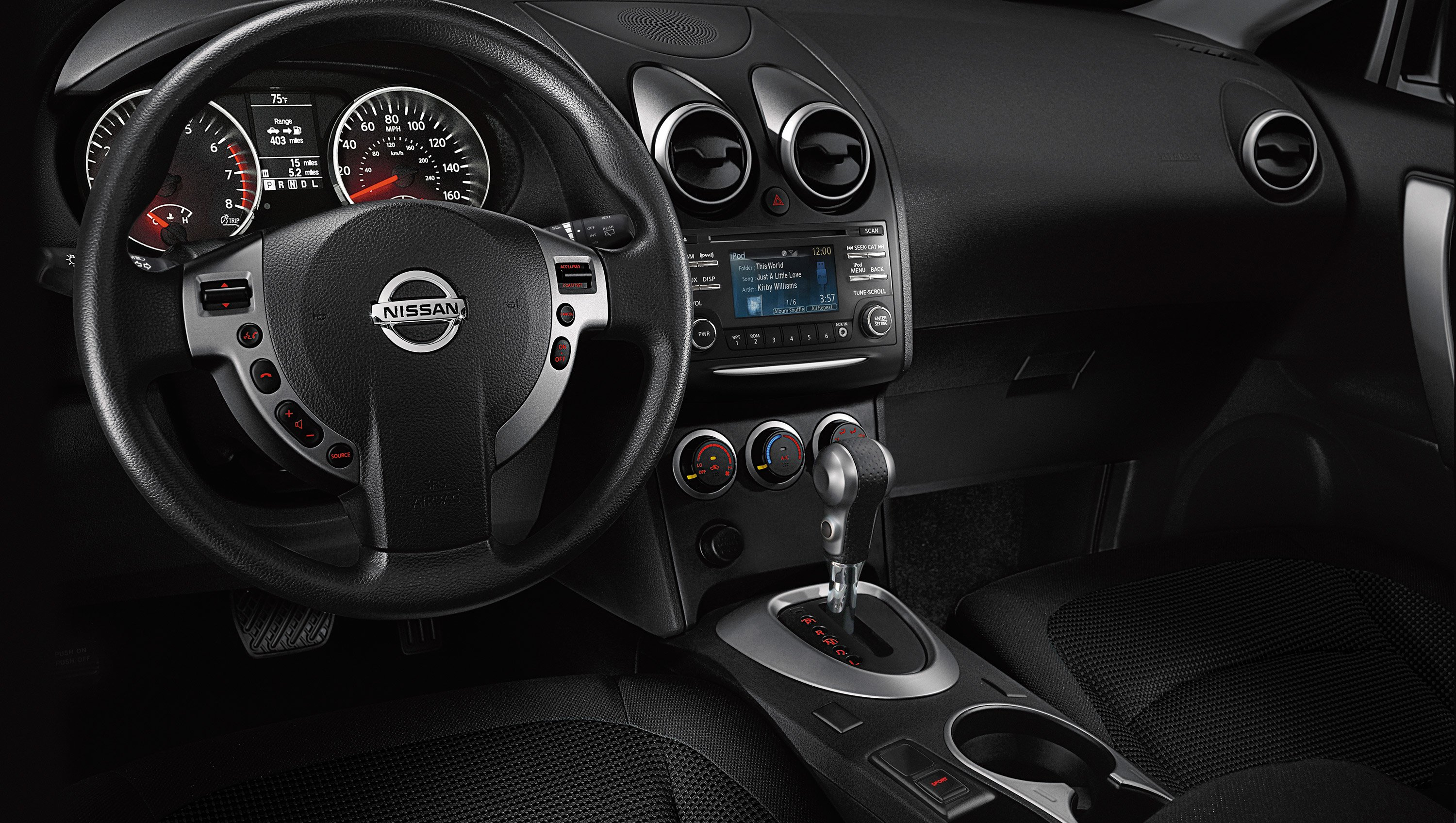 New Nissan Rogue Select Interior Features