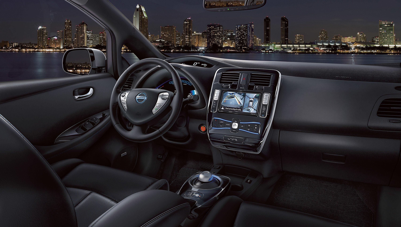 Lovely New Nissan Leaf Interior