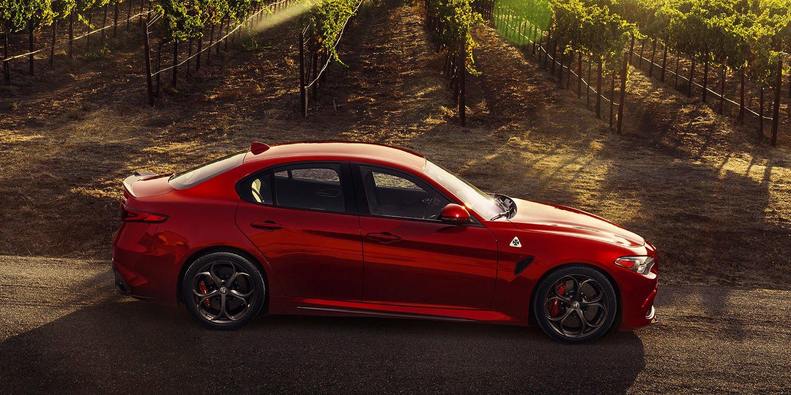 New Alfa Romeo Giulia Quadrifoglio Buy Lease And Finance Offers Msrp On Sale Near Danvers Ma