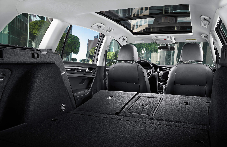 New VW Golf SportWagen Interior Image 1