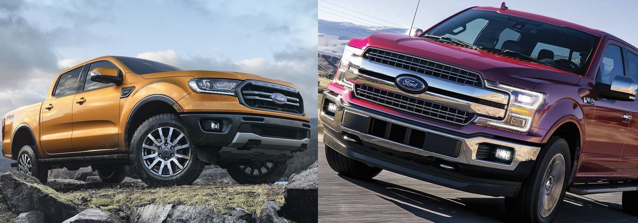 Ford Ranger Vs Ford F 150 Size Price Tulsa Ok