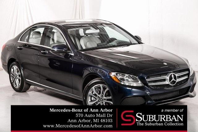 Perfect New 2018 Mercedes Benz C Class In Ann Arbor Michigan