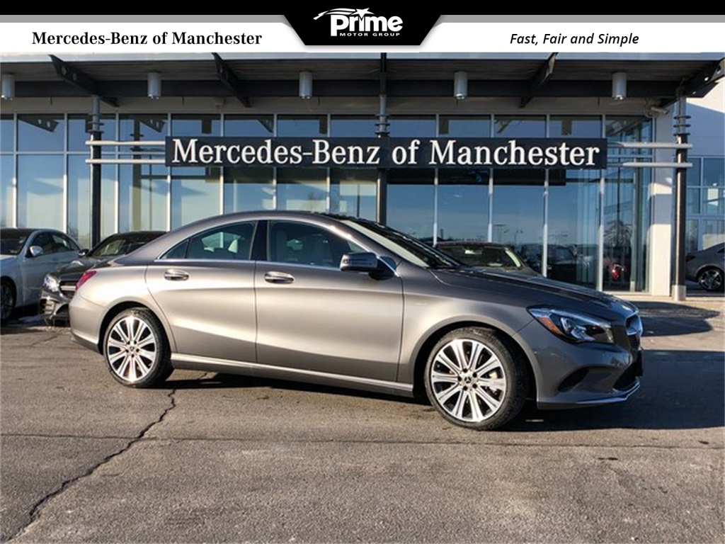 Mercedes-Benz CLA Lease & Finance Prices – Manchester NH