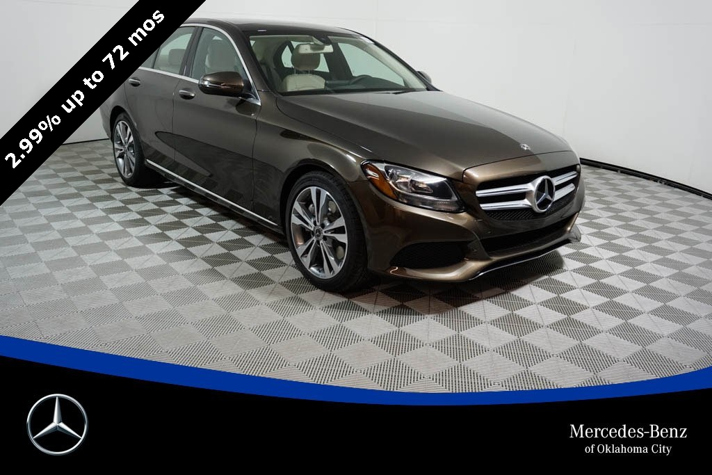 Superior Used 2018 Retired Courtesy Vehicle Mercedes Benz C Class In Oklahoma City  Oklahoma
