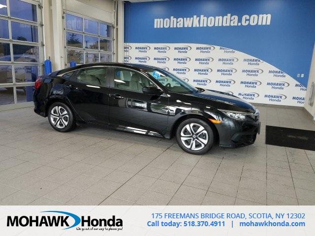 Certified Pre Owned 2017 Honda Civic In Scotia New York