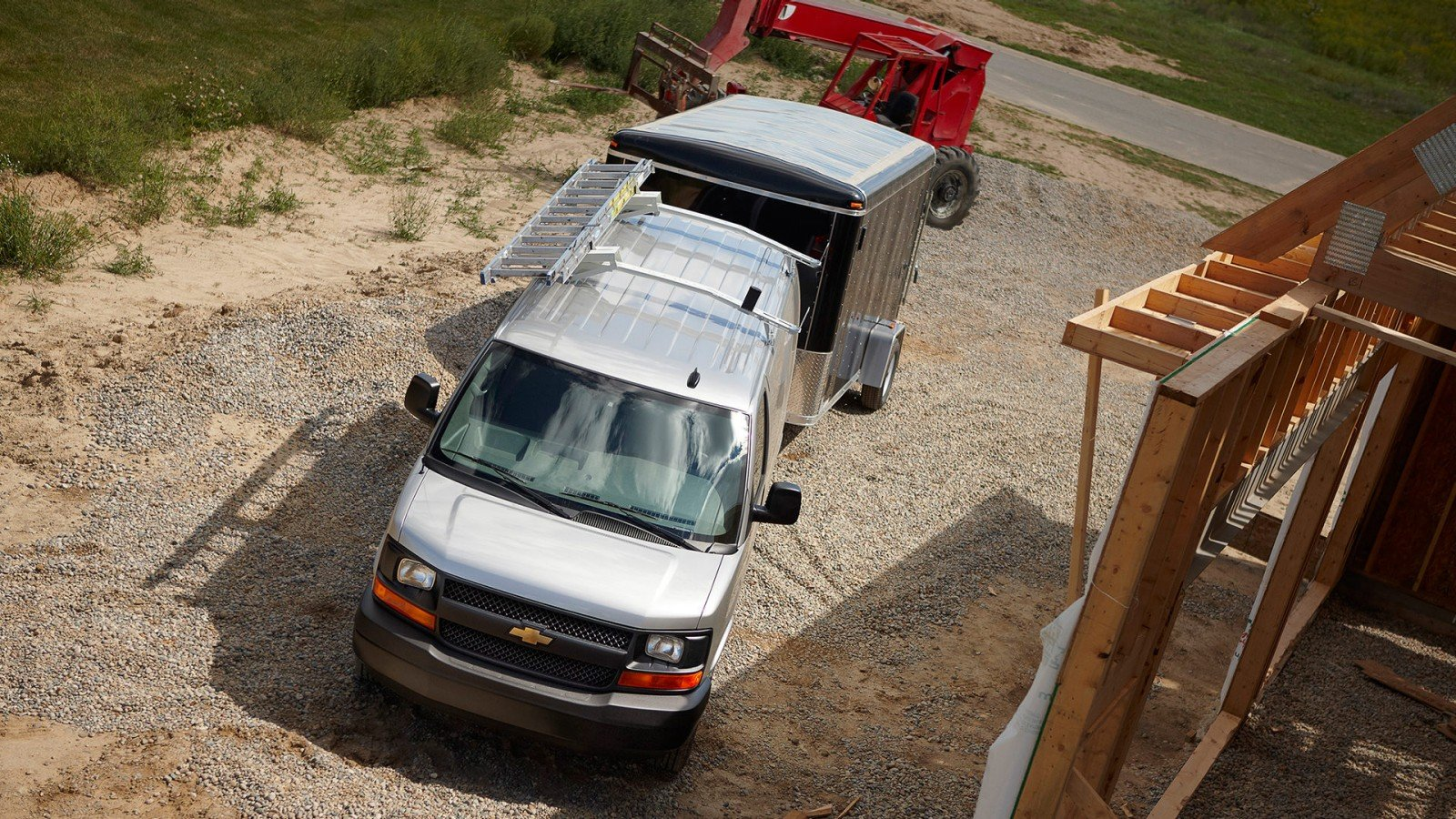 0437bc661d More Than Enough Power For Any Job. The Chevrolet Express Cargo ...