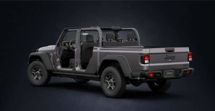 bad76847cd Jeep Gladiator 33-Inch Tires with High Clearance Fender Flares