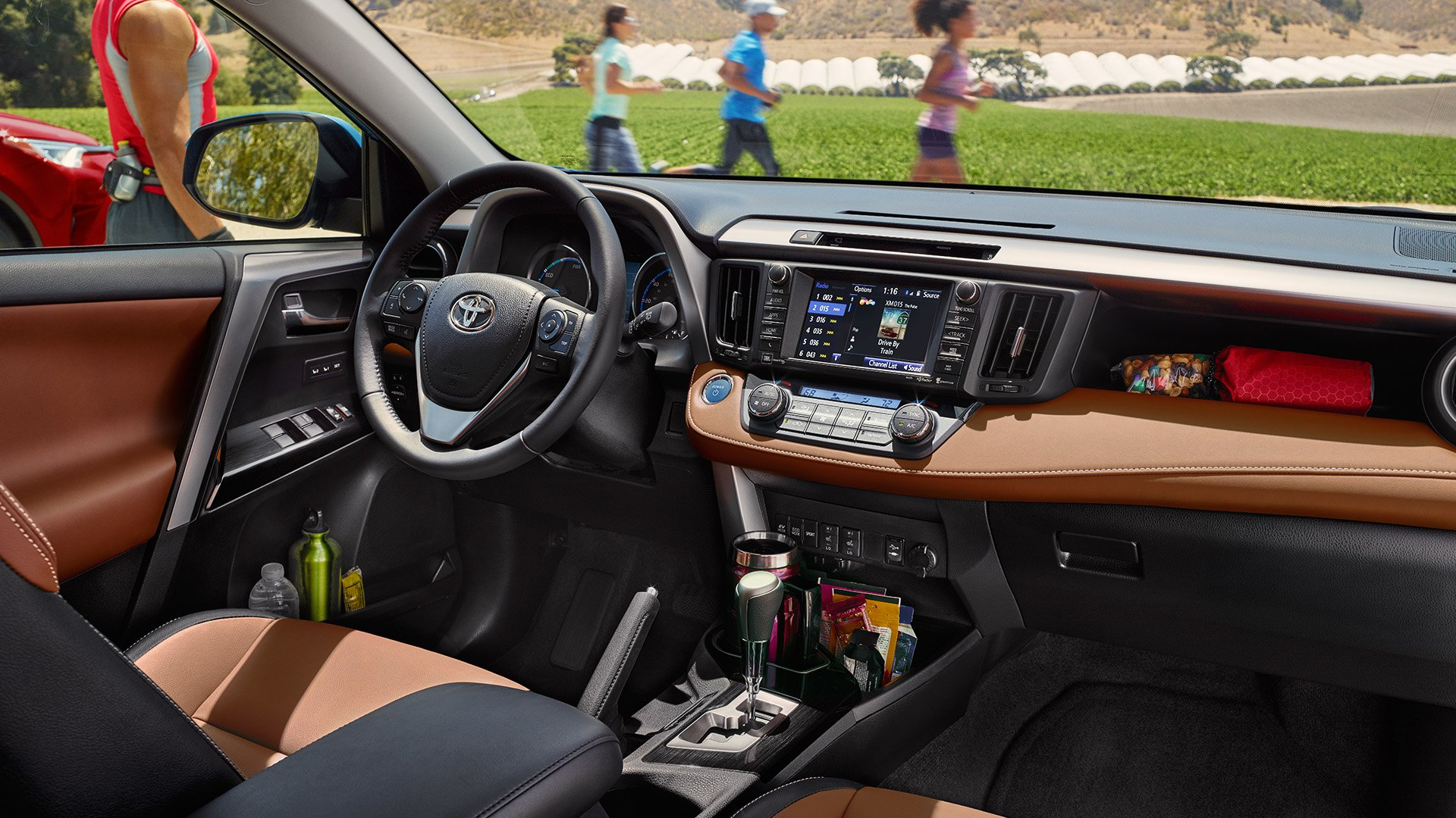 New Toyota RAV4 Interior Features