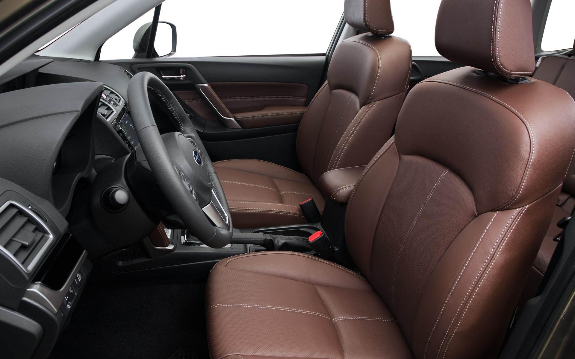 New Subaru Forester Interior Features