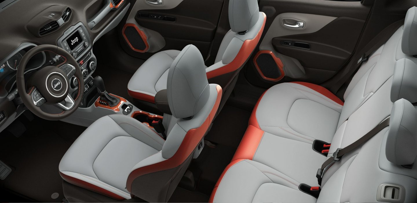 New Jeep Renegade Interior Features