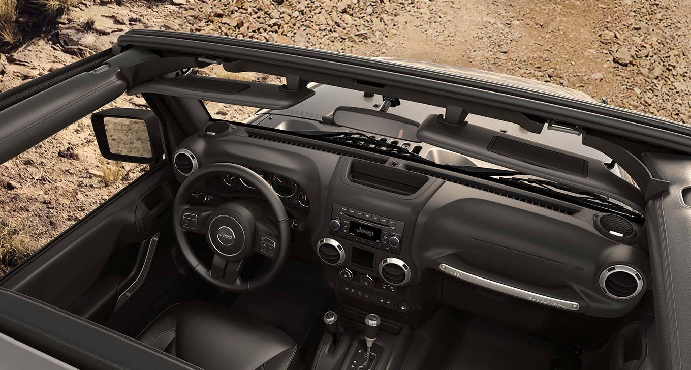 New Jeep Wrangler Specials Radio Cover Interior Features