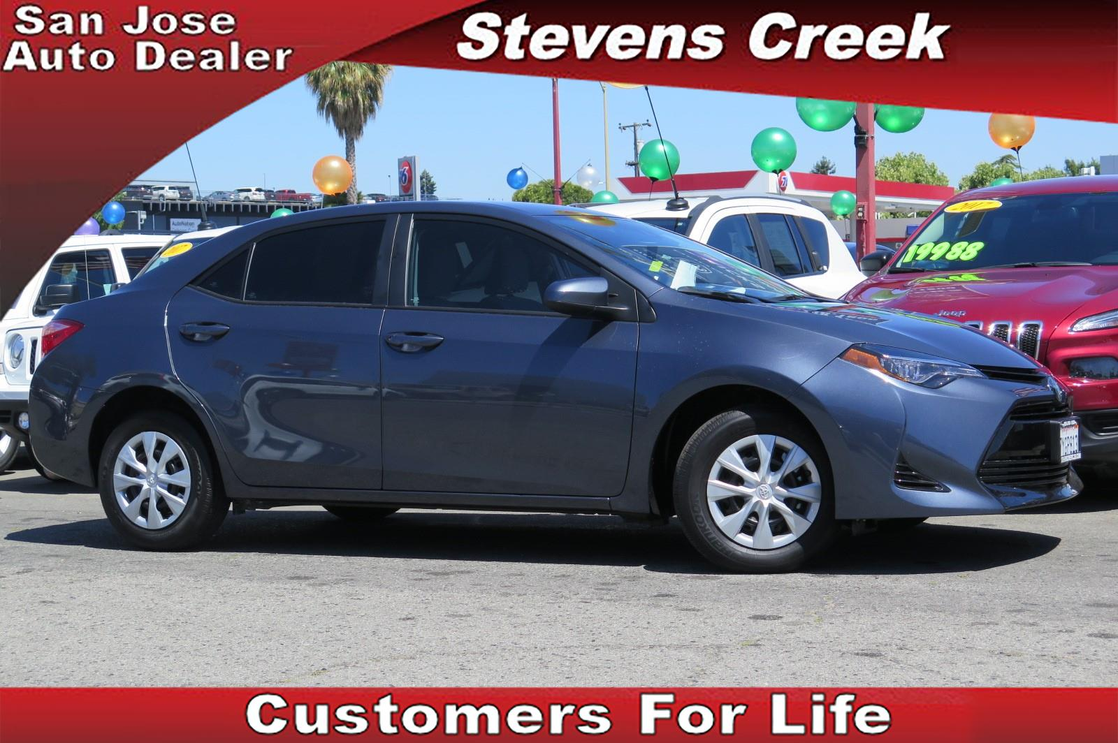 Stevens Creek Chrysler Jeep Dodge 2017 Toyota Corolla In San Jose California