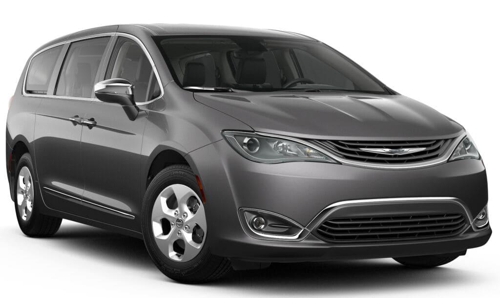 New 2018 Chrysler Pacifica Hybrid In San Jose California
