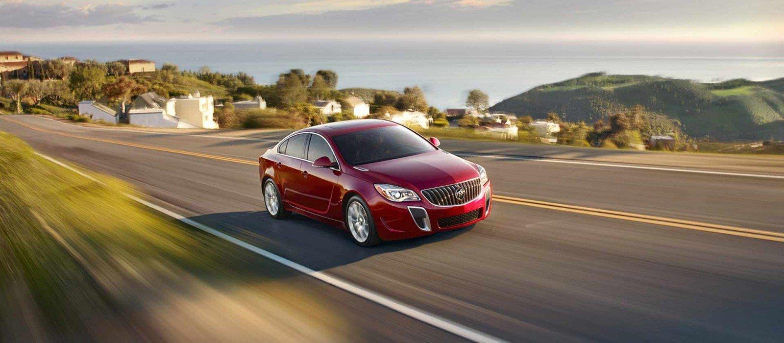 Buick Regal: Technical Data